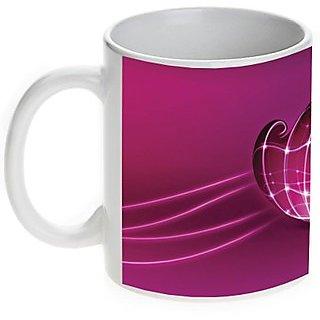 Pink Heart Valentine Mug