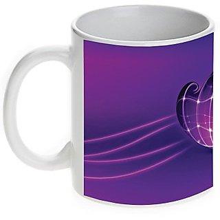 Purple Heart Valentine Mug