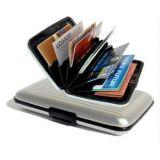 Set Of 2 Aluminum Wallet Purse Credit Card ATM Money Holder Organizer For Men Women Ladies
