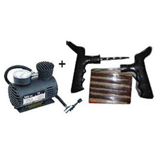 Tyre Repair Kit  Car Air Compressor Utility Combo