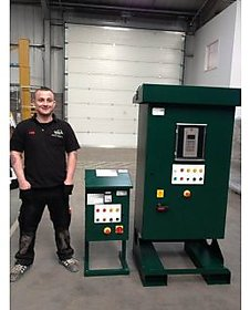 0-15KW Softstarter panel with bypass