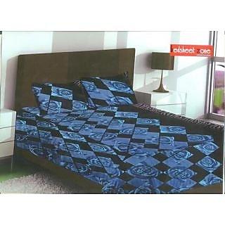Designer Blue Bed Sheet