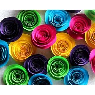 Handmade Flowers Multicolor