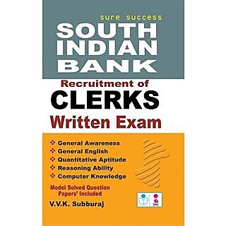 South Indian Bank Recruitment of Clerks Exam Book