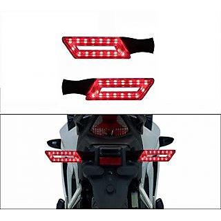 Red Stylish Led Bike Indicators For Hero Ignitor Set Of 2