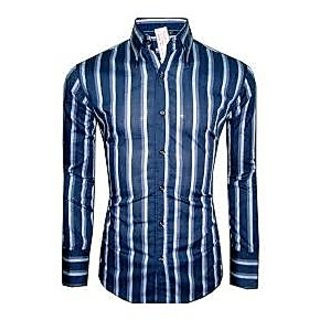 Slim Fit Check Shirt For Men