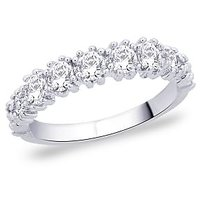 Peora 92.5 Cz Sterling Silver Ring PR1358