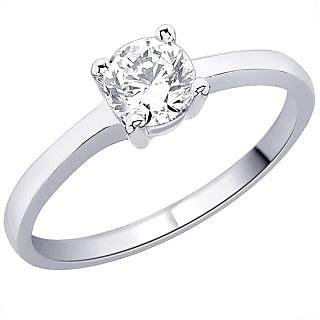 Peora Cz Sterling Silver Ring PR2080