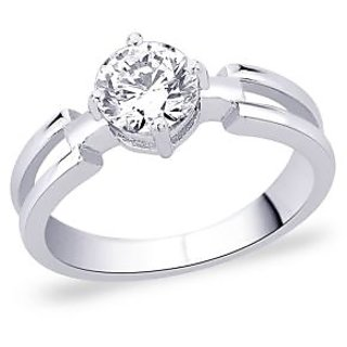 Peora 92.5 Cz Sterling Silver Ring PR6