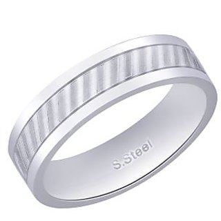 Peora 316L Stainless Steel Men'S Ring (Design 4)