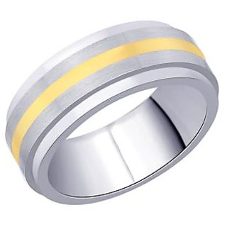 Peora 316L Stainless Steel Rotatable Men'S Ring PSR200