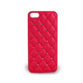 Then&There Spot Diamond Series (Pink) for Apple Iphone 5s Crystal Case