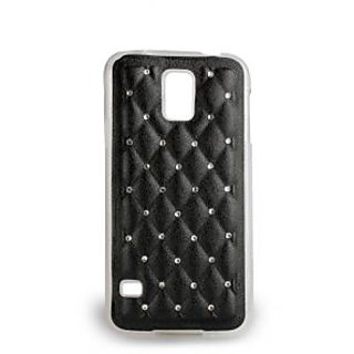Then&There Spot Diamond Series (Black) For Samsung S5 Crystal Case