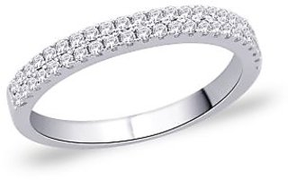 Peora 92.5 Cz Sterling Silver Ring PR244