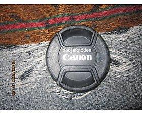 58MM SAFTEY LENS FILTER CAP FOR CANON EOS 18-55MM 1100D 500D 5D 450D 600D 650D 1000D 58MM