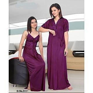 Set Of 2 Ladies Night Wear M.no 578