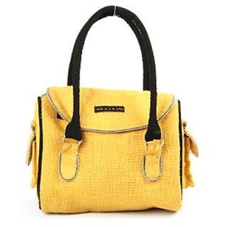 Women's Kosha Jute Yellow Bags