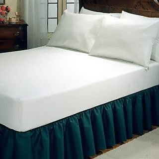 FMP00370_78 Laminated Mattress Protector with skirting  (Comfy Fit Collections)