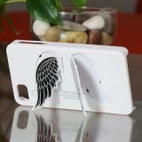 Advanced Design Sgp Angel Wing Stander Hard Case For Iphone 4 4s (white)