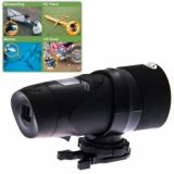 At-18 1.3mp Cmos Sensor Outdoor Sports Camera With Waterproof Function For Swimming, Riding, Hunting, Surfing, Boating ?? - Black