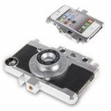 Gizmon Ica Transform Iphone Into Retro Camera Hard Case For Iphone 4 4s (black)
