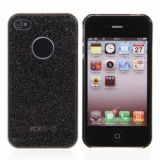 Protective Plastic Hard Back Case Cover With Night Light For Iphone 4 4s (black)