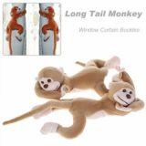 A Pair Of Cartoon Long Tail Monkey Curtain Tieback Window Curtain Buckles
