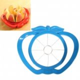 Stainless Steel Fruit& Vegetable Piler With Apple Shaped - Blue
