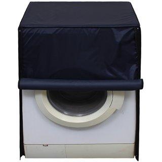 Glassiano Navy Blue Waterproof  Dustproof Washing Machine Cover For Front Load IFB Senorita Smart 6.5 Kg, Washing Machine