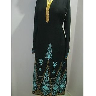 Pakistani Kurti in black
