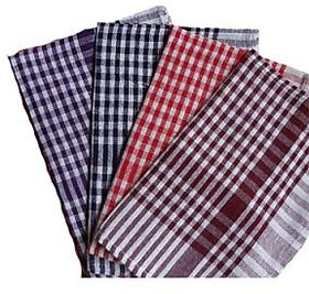 iLiv  Multipurpose Set of 4 Kitchen Towels( Set of 4 )