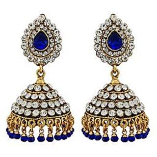 Asmara Elegantly Crafted Australian Diamond Jhumkas