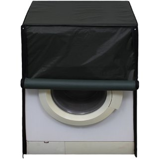 Glassiano Green Waterproof  Dustproof Washing Machine Cover For Front Load Samsung WW80J5410GX, 8 Kg Washing Machine