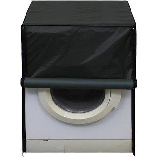 Glassiano Green Waterproof  Dustproof Washing Machine Cover For Front Load Samsung WW80J4213KW, 8 Kg Washing Machine