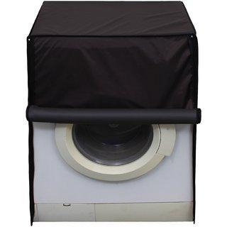 Glassiano Coffee Waterproof  Dustproof Washing Machine Cover For Front Load Hitachi BD-W85TAE 8.5 Kg, Washing Machine