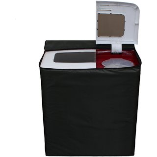 Glassiano Green Waterproof  Dustproof Washing Machine Cover For semi automatic Sansui SS72FR-DMA 7.2 Kg, Washing Machine