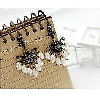 Retro Sweet Pearl Tassels Earrings