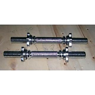 Dumbells rods 14 Star Bolts x 1 pair
