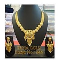 India Gold 1202 Gold Jewellery