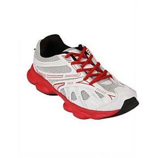 Yepme R-Tone Sports Shoes- White & Red