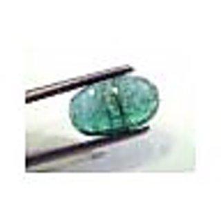 3.40 Ct Untreated Natural Zambian Emerald Gemstone Panna stone