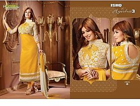 Khwaish ( Ishq E Ayesha 3) Design # 2806 Designer Embroidery Dress Material (Unstitched)