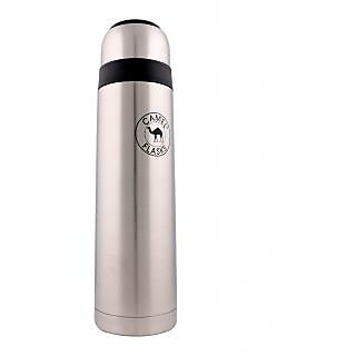 Camel Black and Silver 750 ML Flask_CS_75_NT