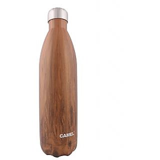 Camel Brown 500 ML Printed Cola Flask_CCB_50_WT_BR