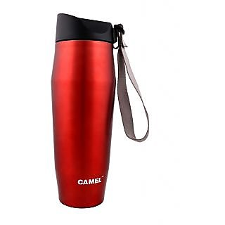 Camel Red 500 ML Fancy Cone Shape Flask_CSB_50_KS_RD