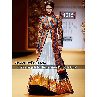 Stylish Jacqueline In Koti Pattern Gown Designer