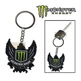 Monster Eagle Rubber Keychain/Keyring For Bike/Car