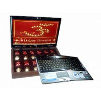 DIWALI CHOCOLATES GIFT IN LAPTOP GIFT BOX