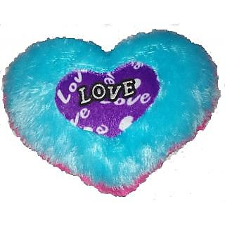 Handikart Multi Colors Heart Shape Cushion for Decor or Gift