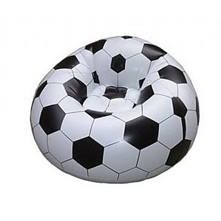 Inflatable Soccer Football Sports Beanless 30Kg Sofa Air Chair for Kids Child